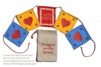 Prayer flags – hearts